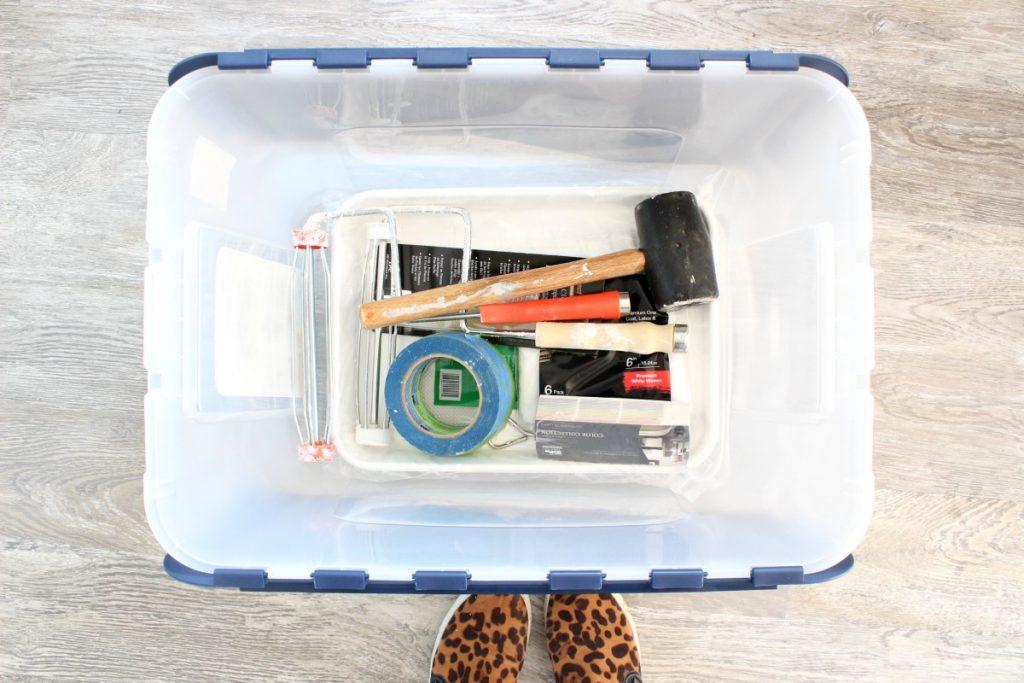 garage-makeover-painting-bin