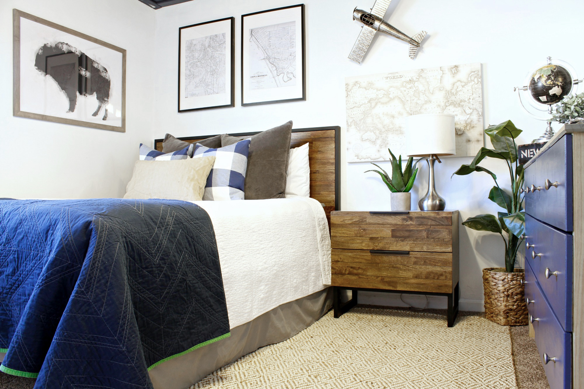 Guest Room Refresh with Pier 1 - Classy Clutter