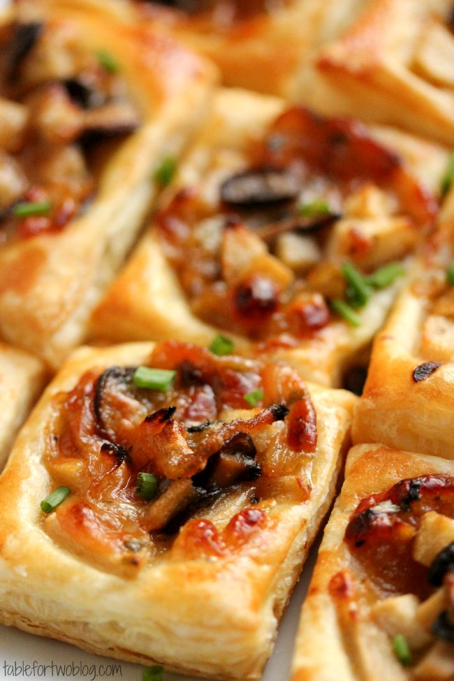 carmelized-onion-mushroom-gruyere-bites-tablefortwoblog-1