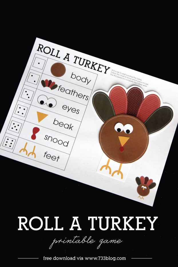 roll-a-turkey-game
