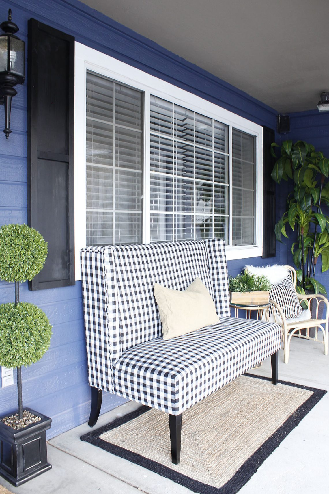 prescott view home reno diy wood shutters and front porch makeover