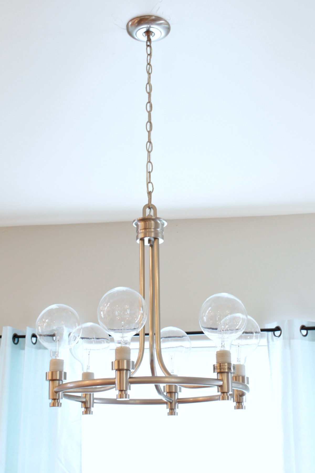 Home Improvement How To Update A Light Fixture Classy Clutter