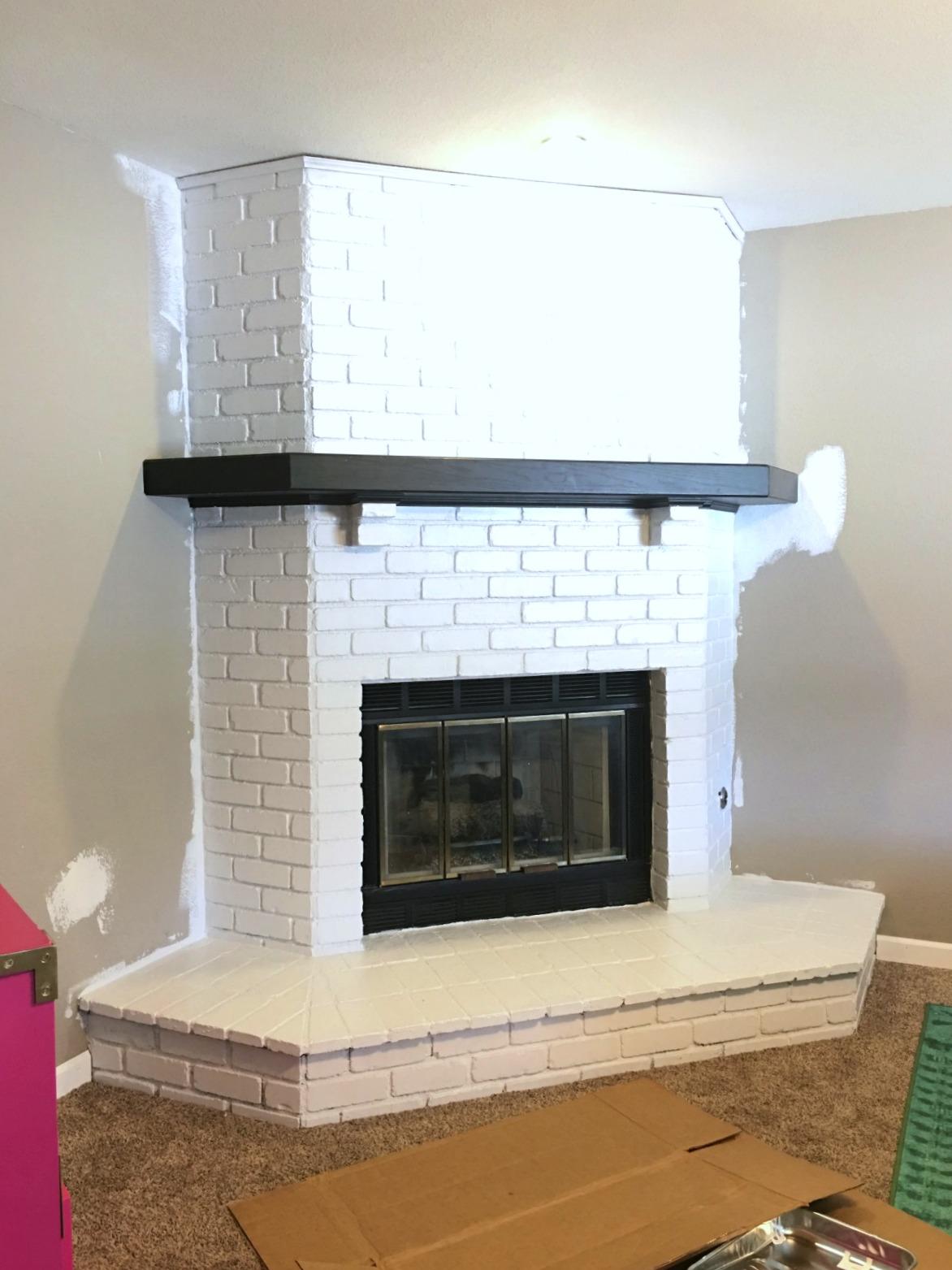 Prescott View Home Reno Fireplace Remodel