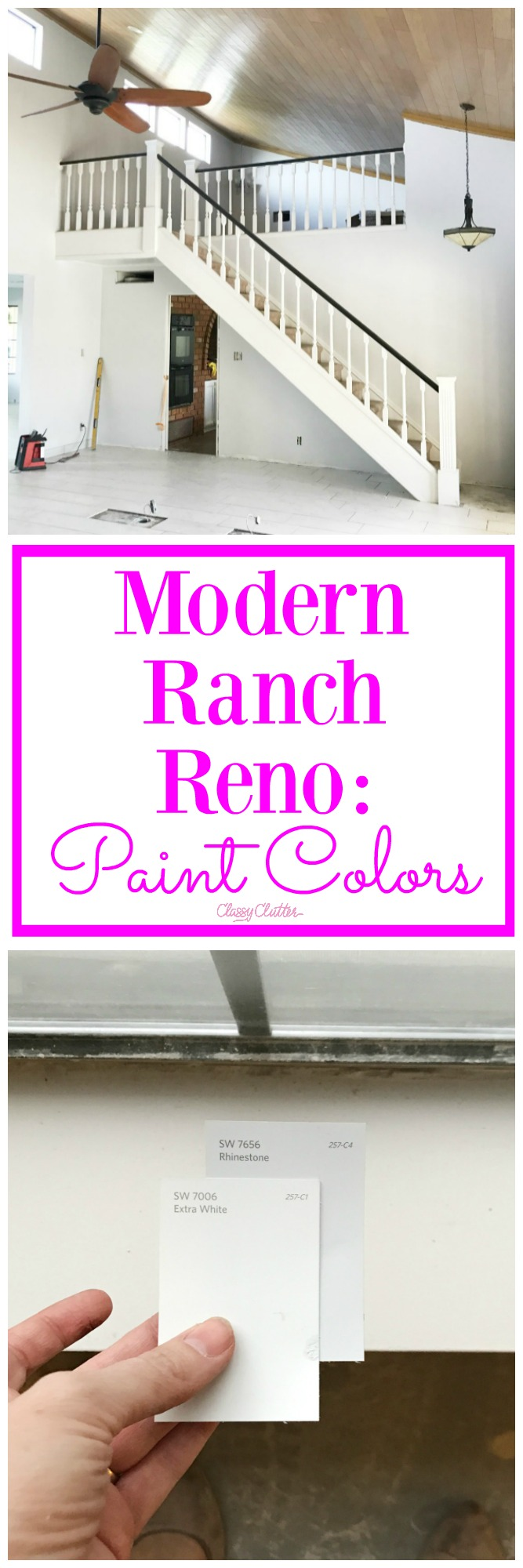 Modern Ranch Reno: Paint Colors and the Best Decision I Made on my ...