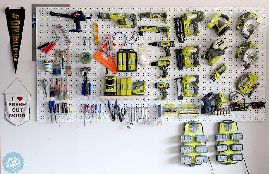 how to organize garage tool ideas | 14 Fabulous Garage Organization Ideas and Tutorials ...