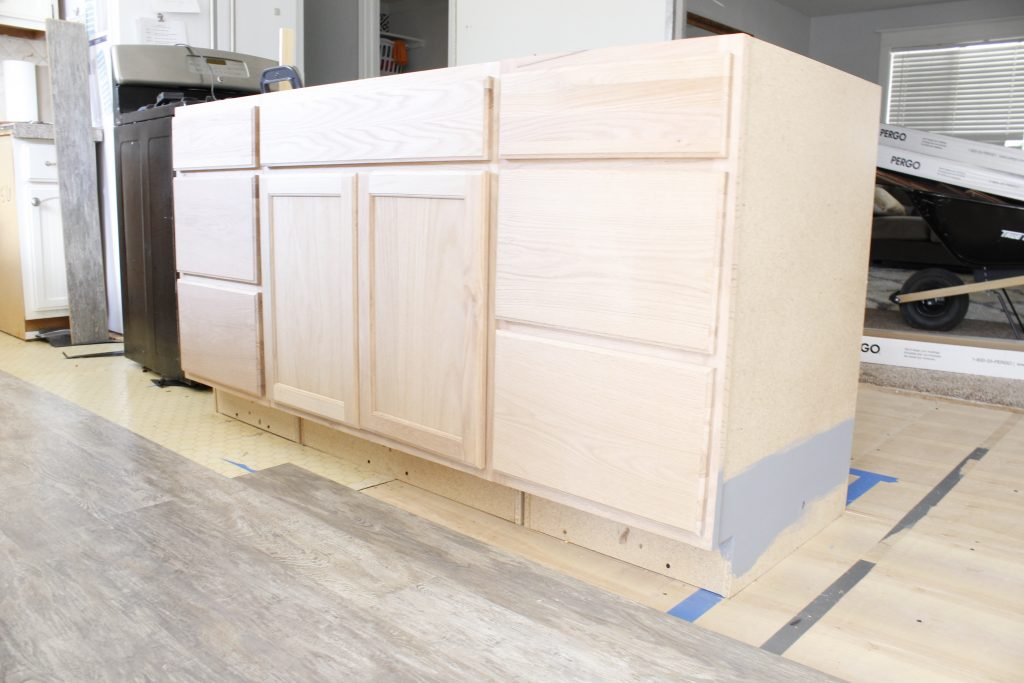 How to build a kitchen island (easy DIY Kitchen Island)