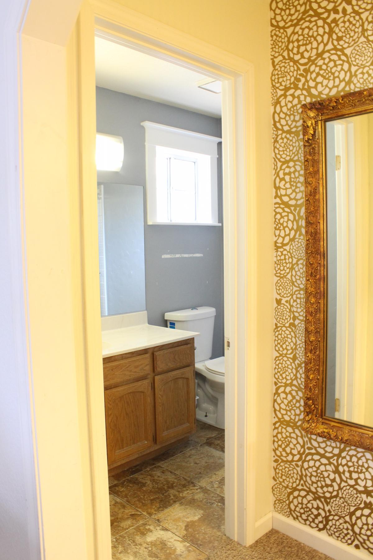 Prescott View Home Reno: Master Bathroom before - Classy Clutter