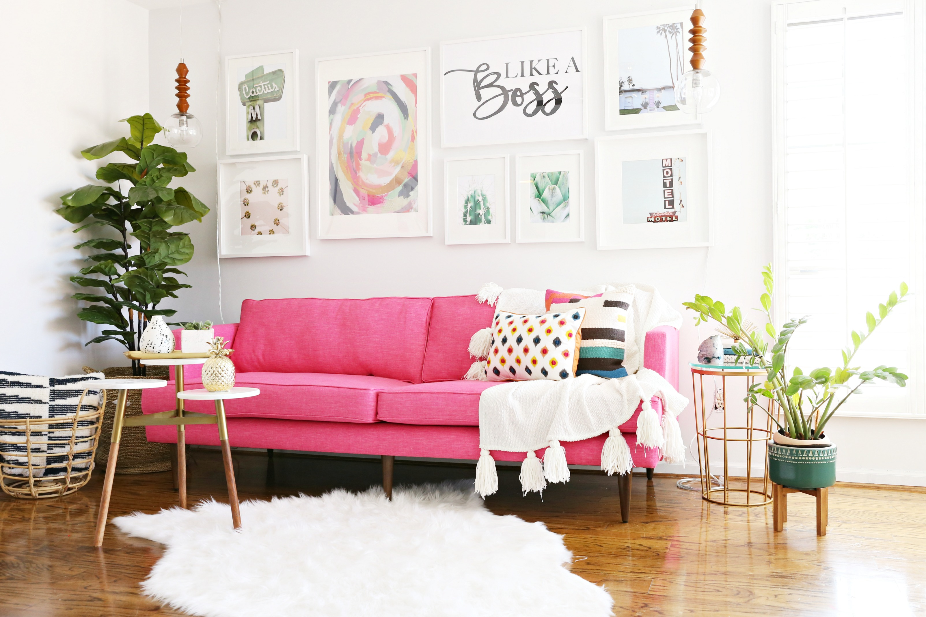 Modern Ranch Reno: The Perfect Sofa for my Office - Classy Clutter