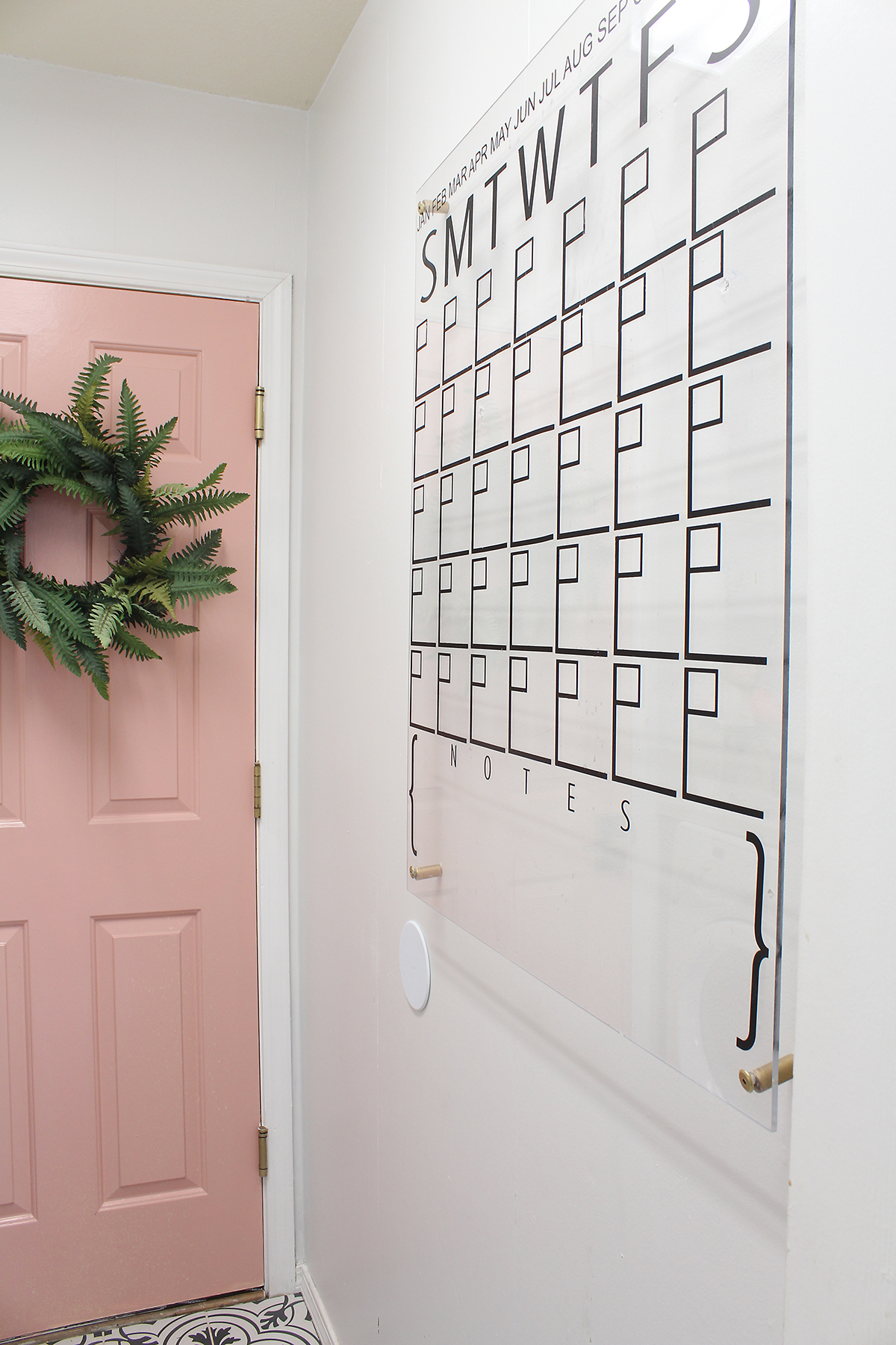New You can get the tutorial here or purchase the calendar decal here