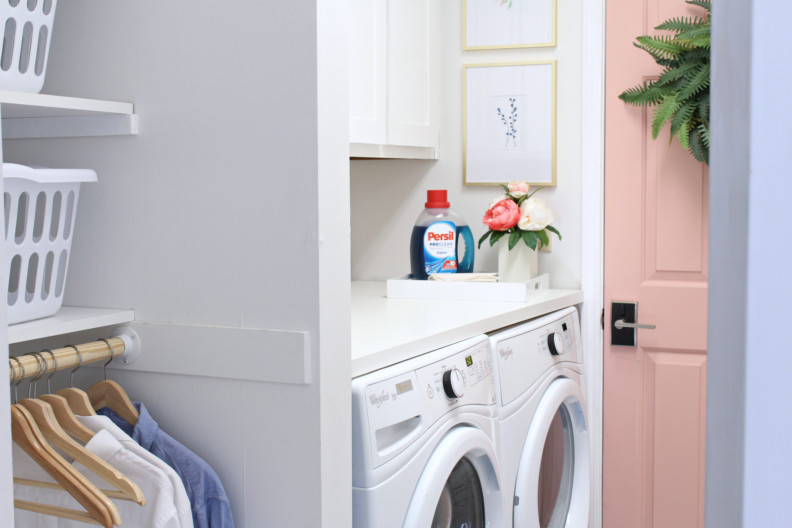 prescott view home reno: laundry room makeover - classy clutter a Laundry Room