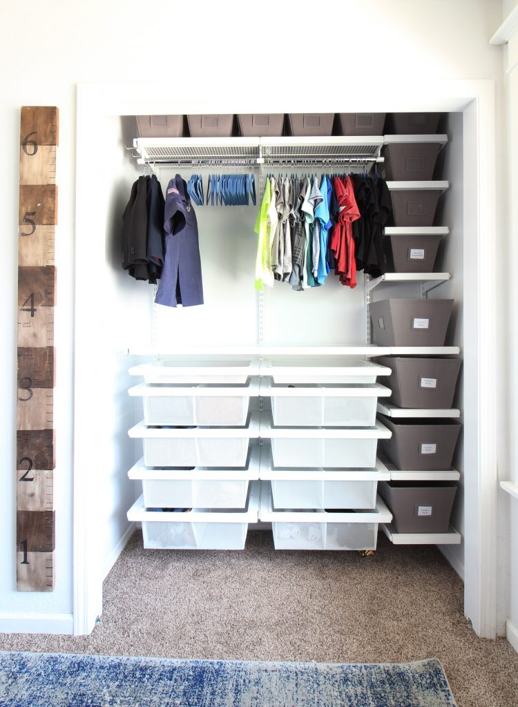 Container Store Closet System New Our Closet Makeovers With The Container Store And HGTV Magazine