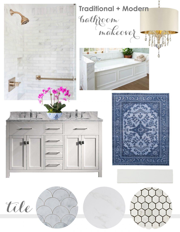Prescott View Home Reno Master Bathroom Reveal Classy Clutter