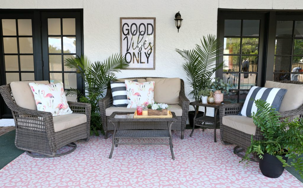 Palm Springs Inspired Patio Decor Classy Clutter