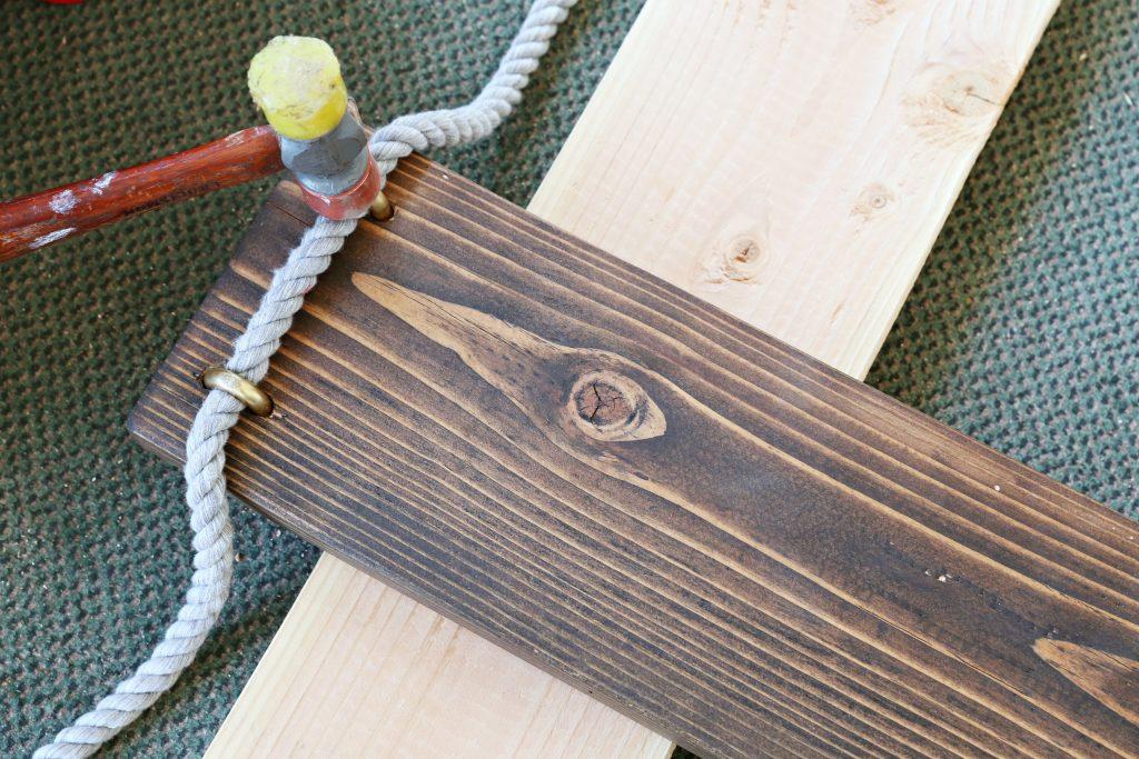 DIY swing supplies