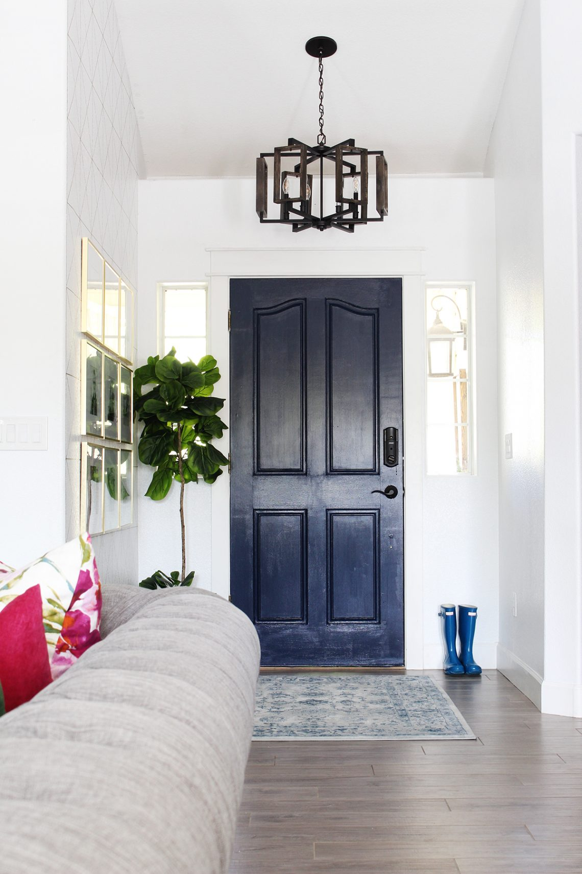 Park Home Reno  Entry Way Makeover. Park Home Reno  Entry Way Makeover   Classy Clutter