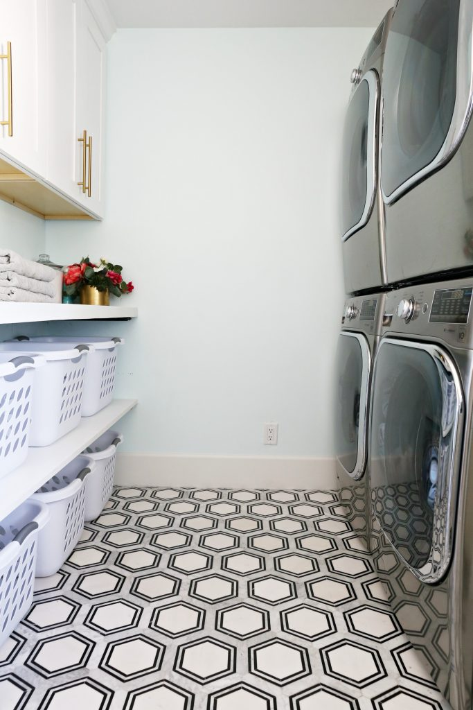 Modern Ranch Reno Laundry Room Reno Part 3 Flooring Classy Clutter
