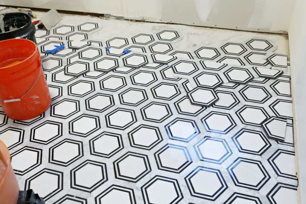 Modern Ranch House Laundry Room Reno Part 3 Flooring Classy Clutter