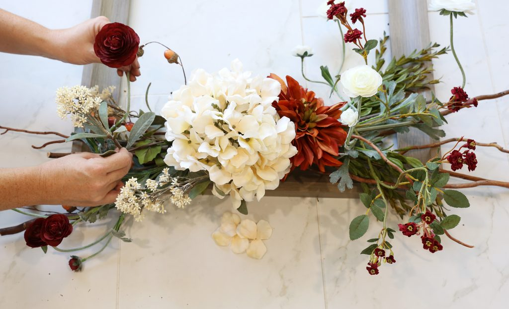 Ideal If desired manipulate flowers and stems to your liking