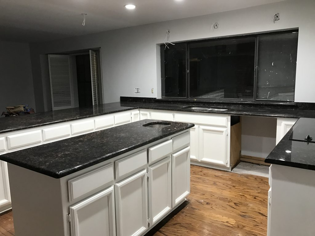 I Got To Work The Week That We Keys New House Wanted Cabinets Be Painted And Ready Right When Moved In