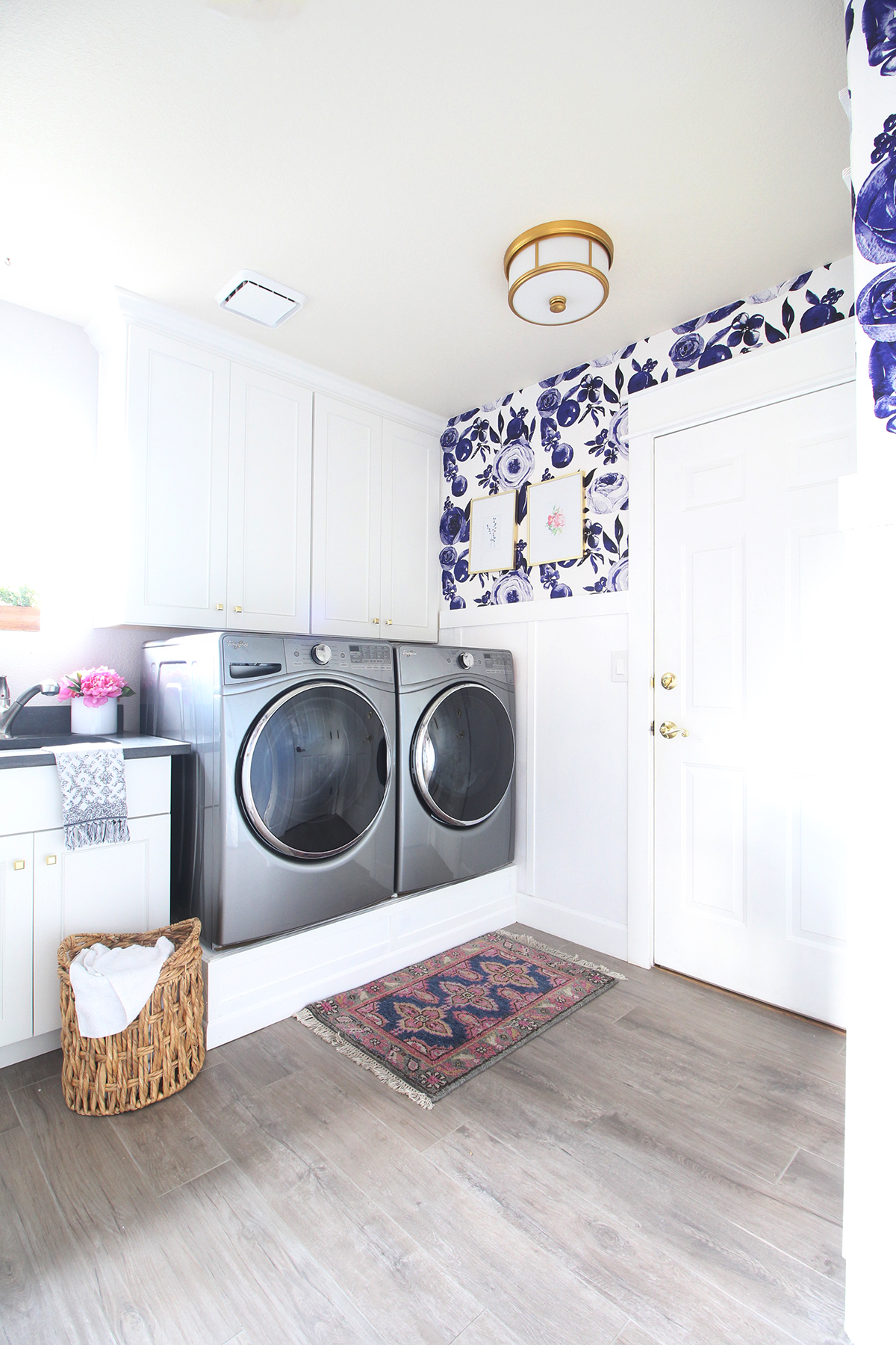 Park Home Reno Diy Laundry Pedestal Classy Clutter