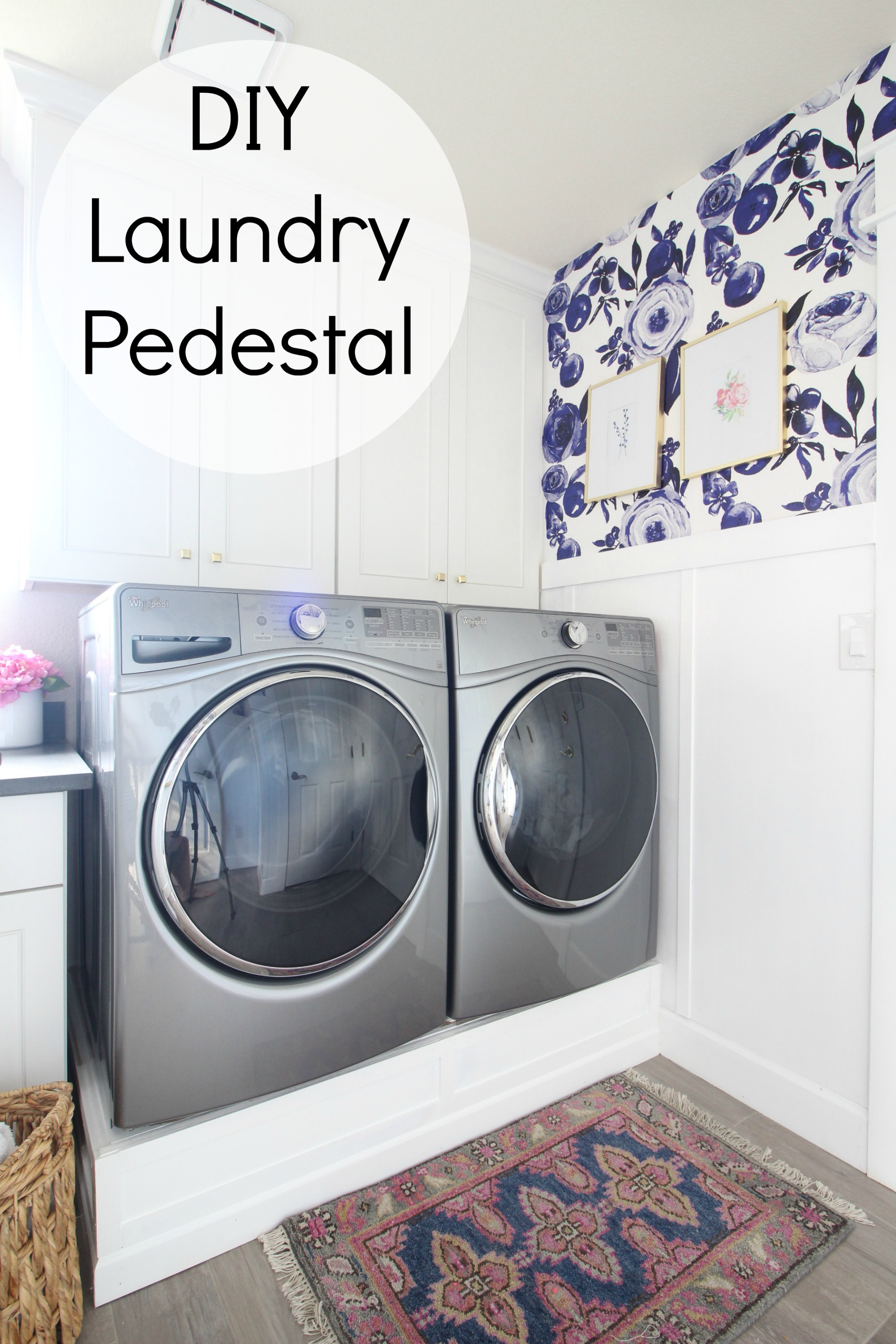 ideas on laundry pedestal handyman with room great renovation washer diy home