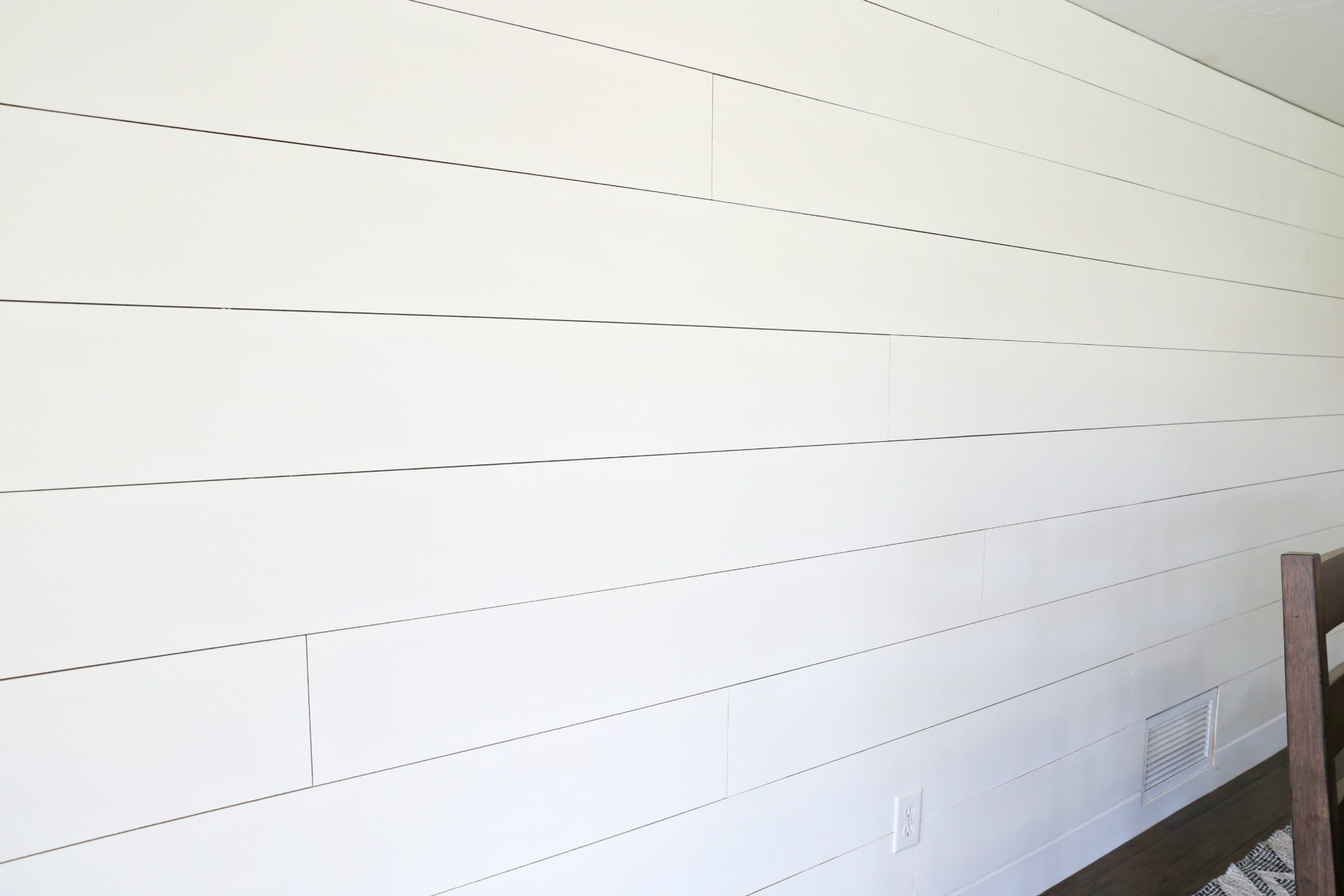 Greatest HOW TO: Shiplap a wall the easy way! Use our tutorial to make your  JK24