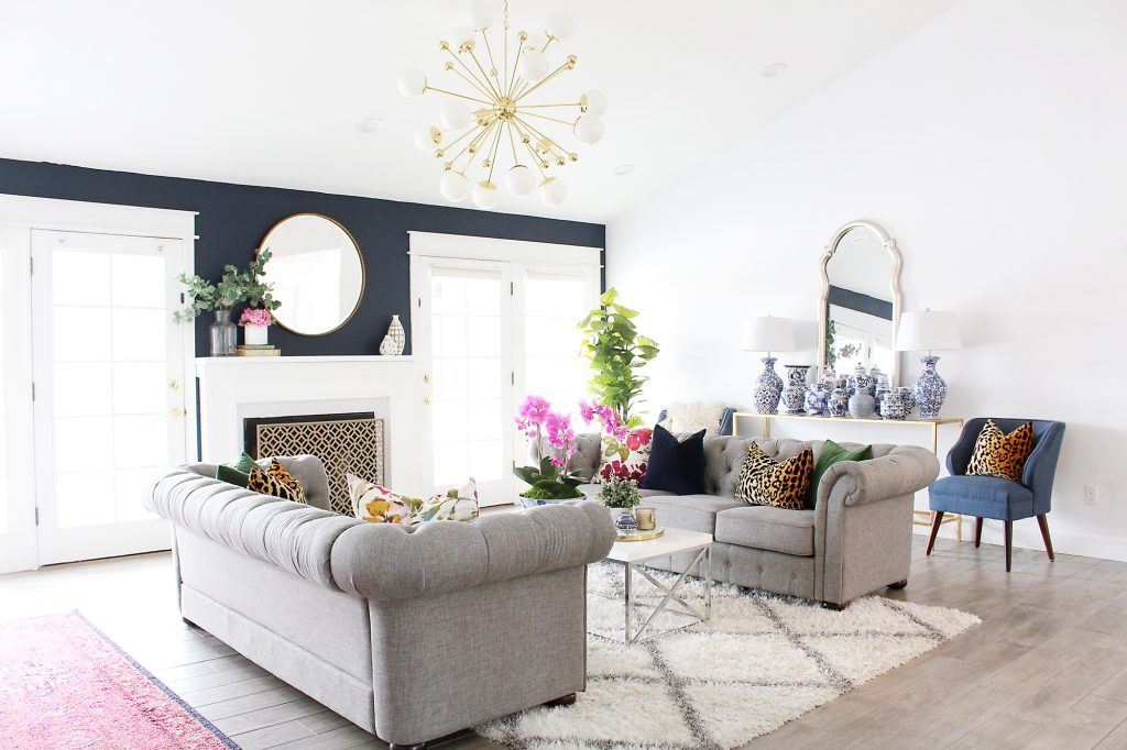 Park Home Reno Living Room Makeover Classy Clutter