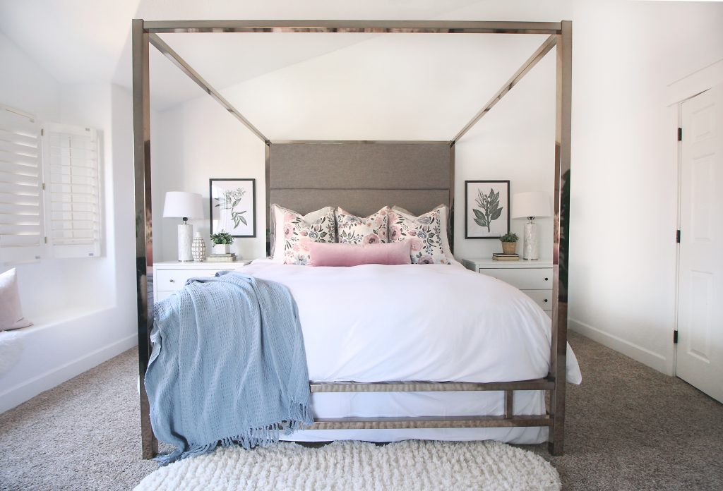 Canopy Bed in Master Bedroom