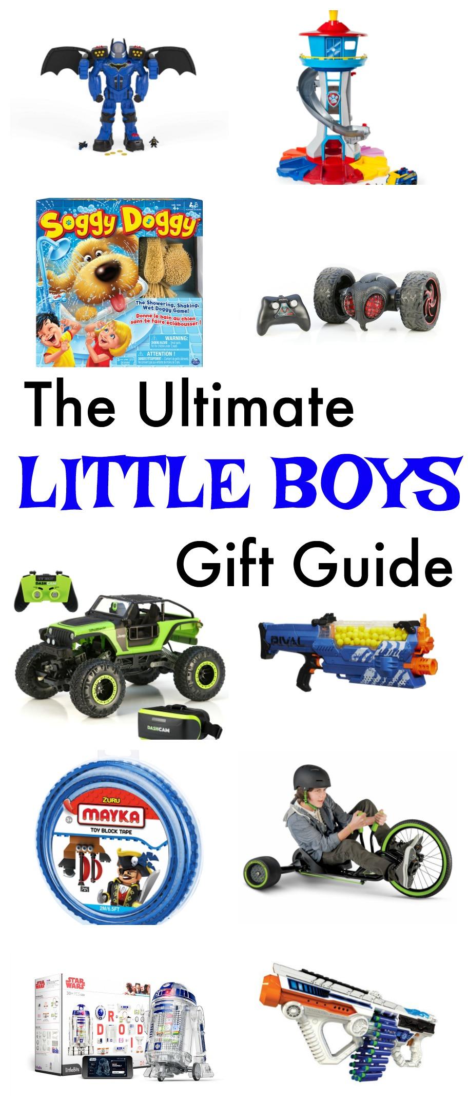 GIFT GUIDE Little Boys Gift ideas Classy Clutter