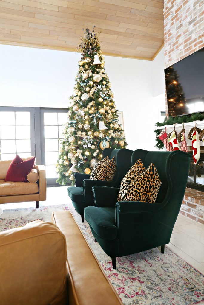 ... The Holiday Season And I Knew That These Chairs Would Fit Perfectly In  The Space, Add Some Extra Seating And Go Great With My Christmas  Decorations.