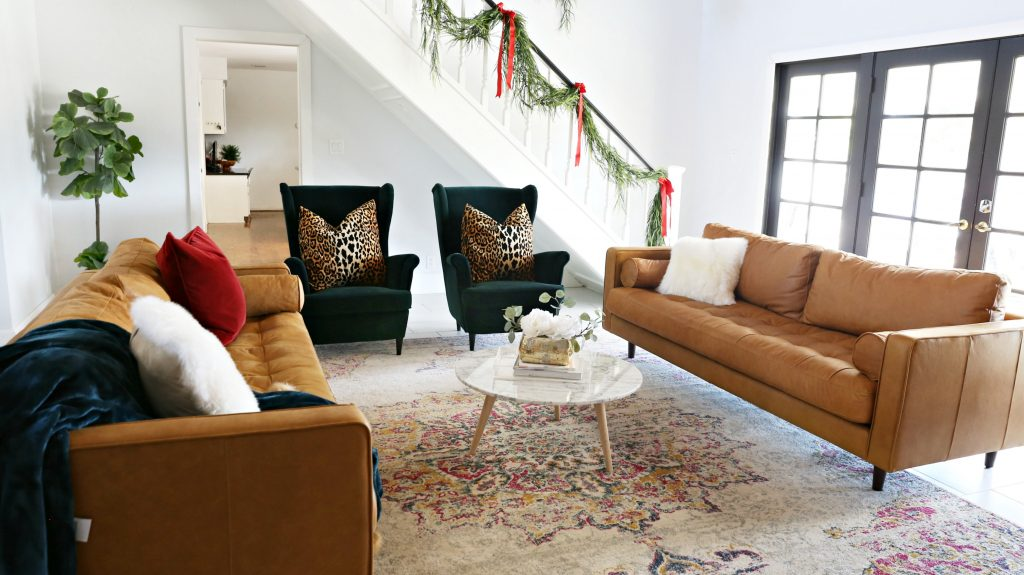I Have Been Wanting These Article Sven Couches In The Charme Tan And  Mahogany For The Last Couple Of Years And I Canu0027t Even Believe That I  Actually Have A ...