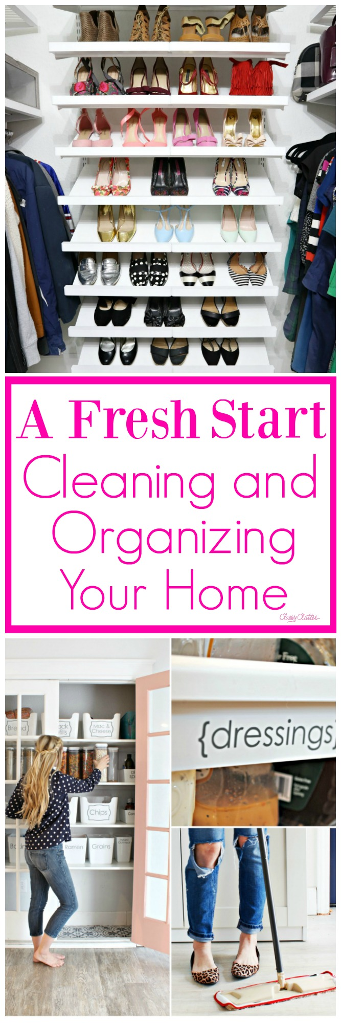 A fresh start cleaning and organizing your home classy for Organize cleaning your house