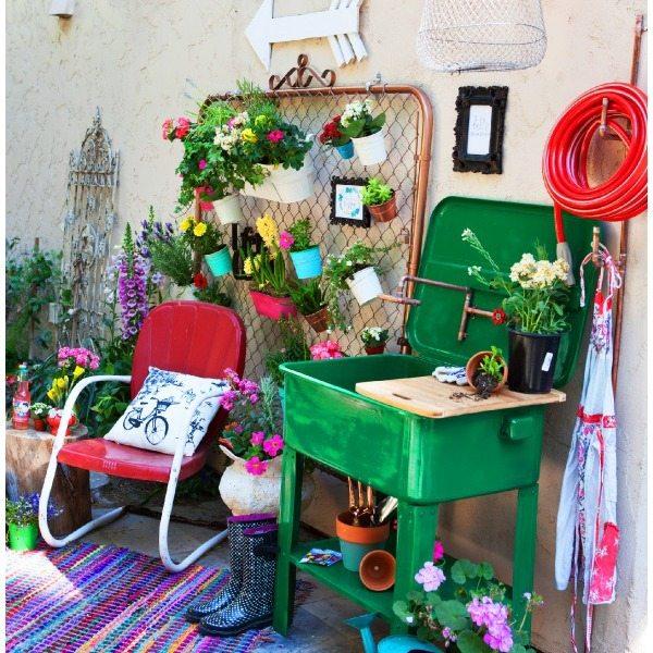 diy flower garden