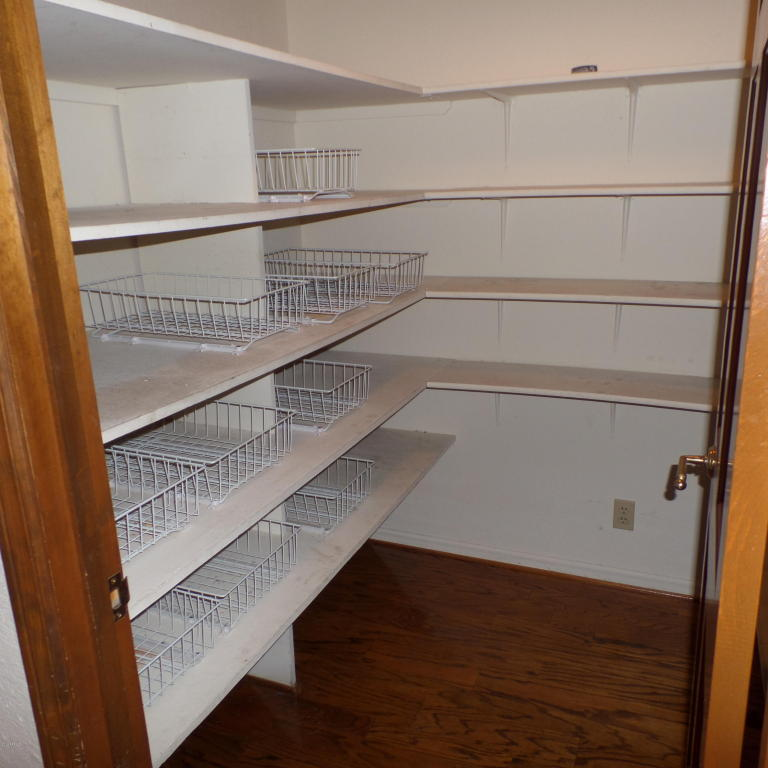 Before picture of the pantry