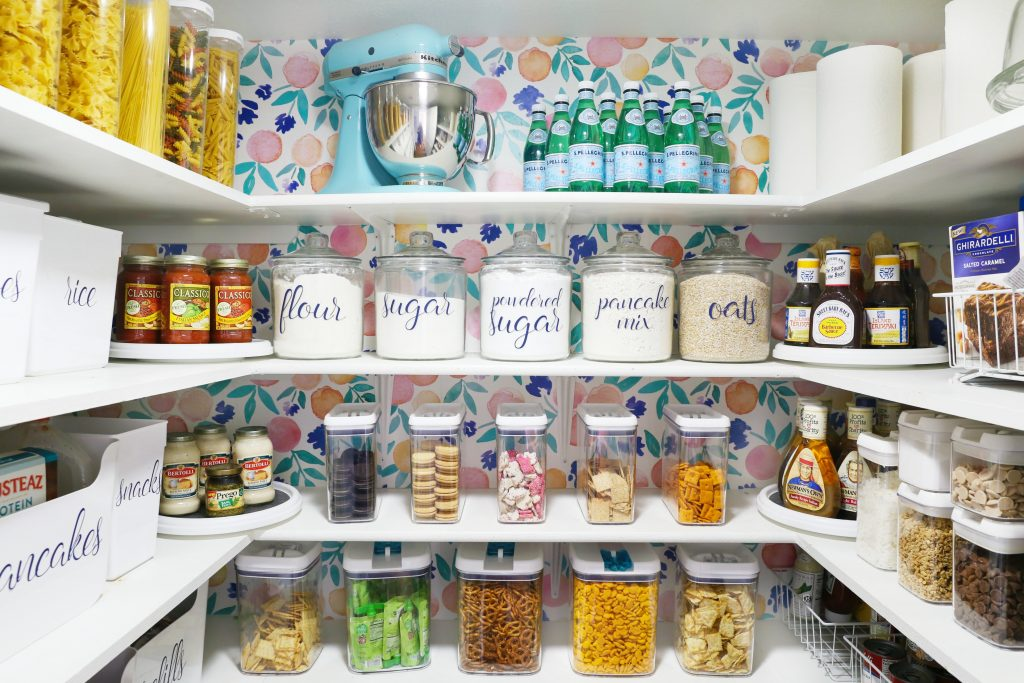 Pantry Organization jars