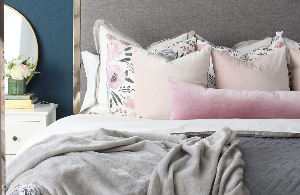 Floral Bed Pillows