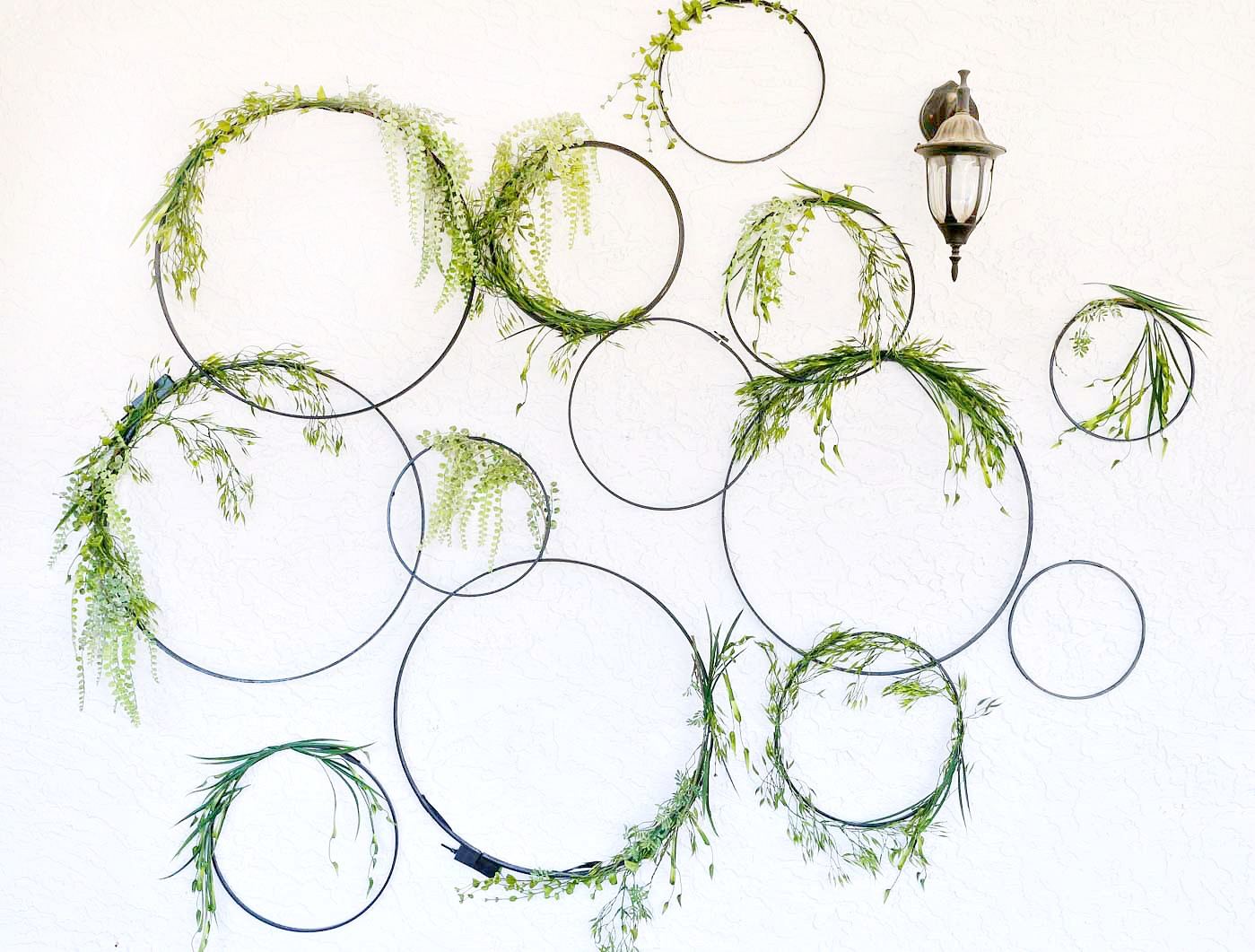 Diy Wall Decor Hoops