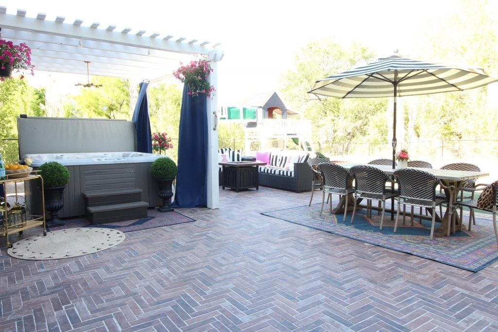 We Love Their Outdoor Patio Furniture And Decor. The Rug Is From  Overstock.com.