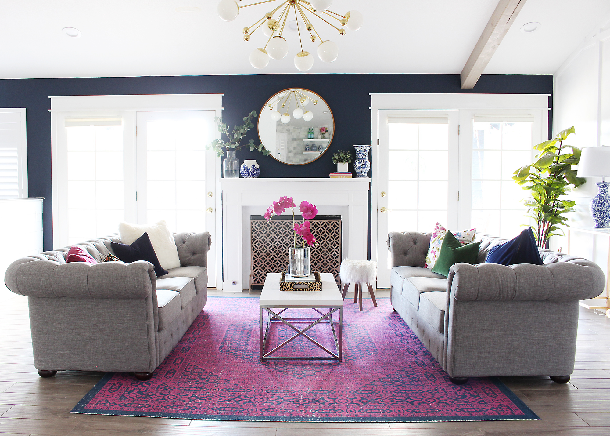 The Ideal Rug Size For Your Living Room - Classy Clutter