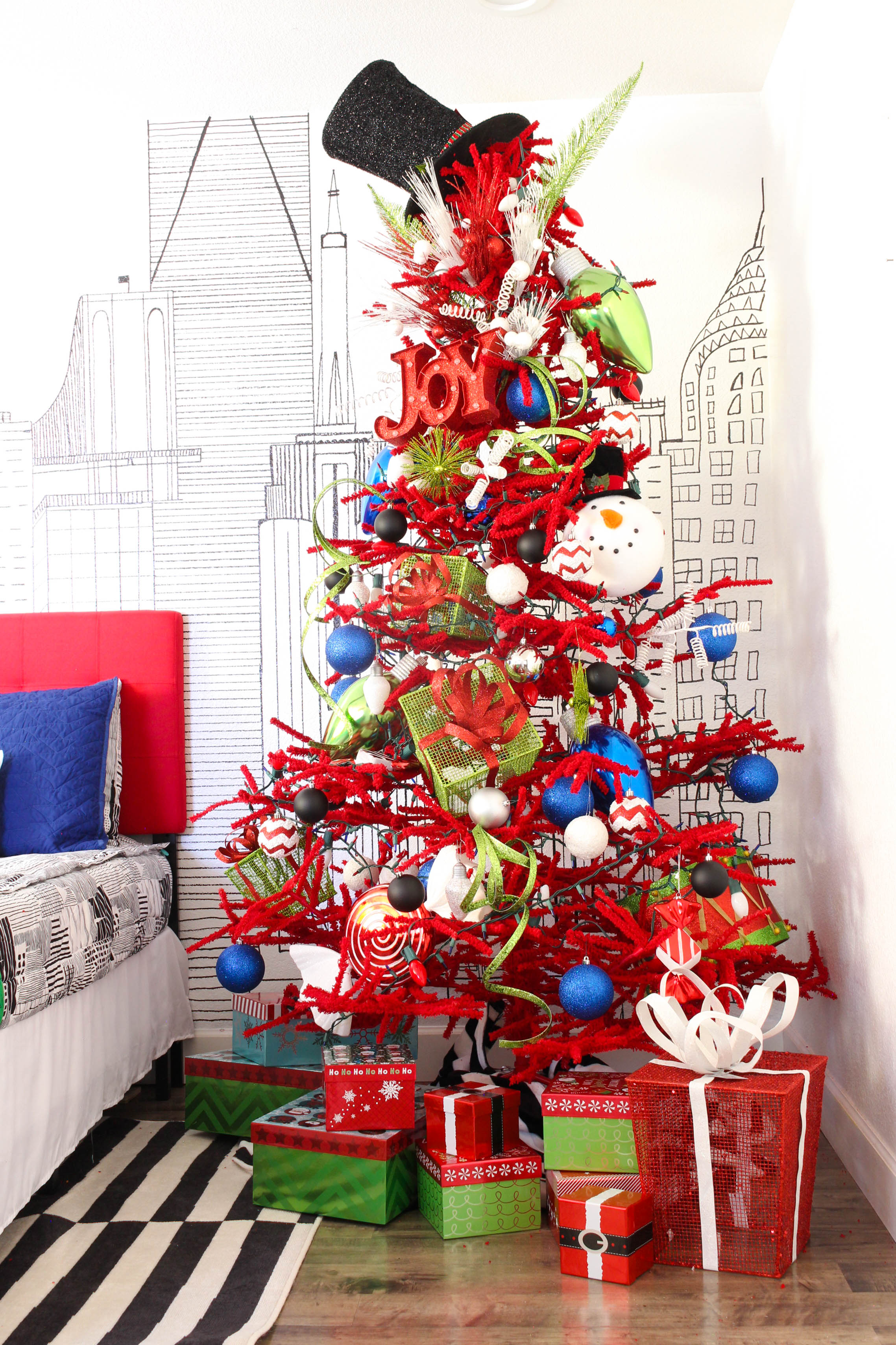 Kids Christmas Tree Classy Clutter