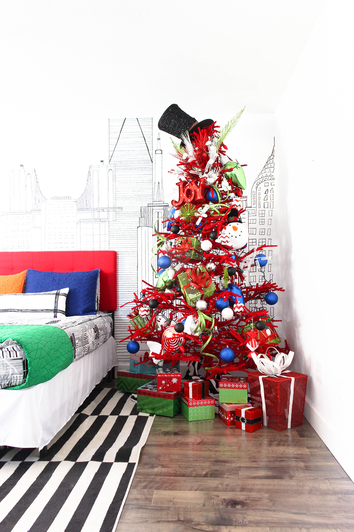 Kids Christmas Tree Cly Clutter