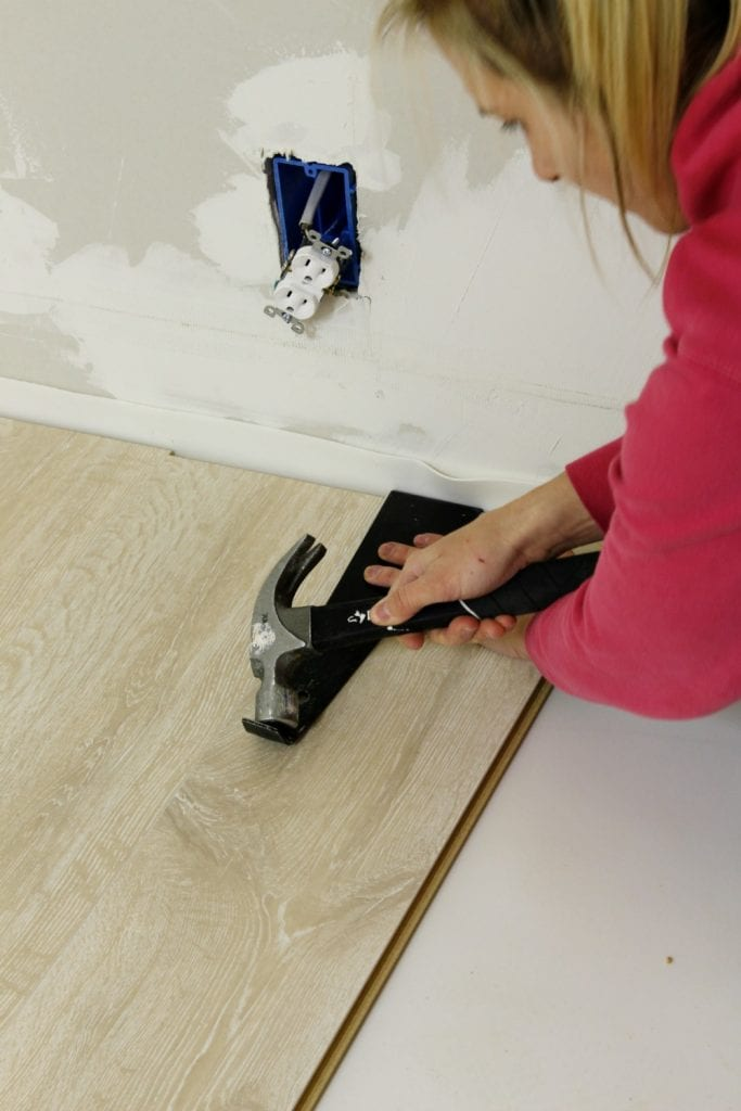 How to install laminate flooring - DIY tutorial