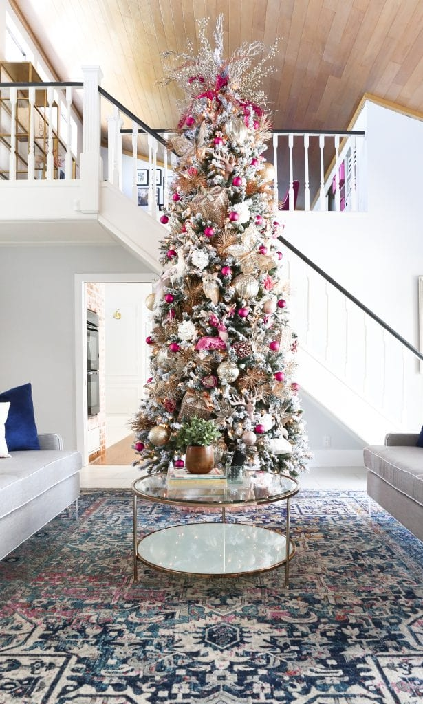 How To Decorate A Christmas Tree Professionally.Diy Christmas Tree Savannah S Pink Christmas Tree Classy
