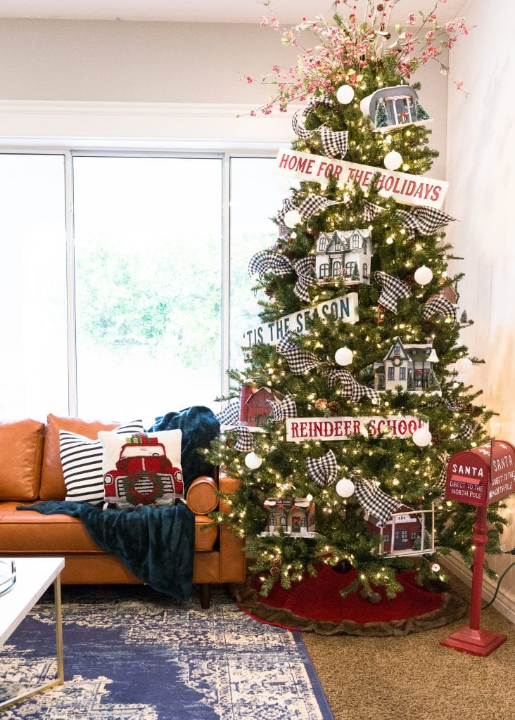 Christmas Tree Village Classy Clutter