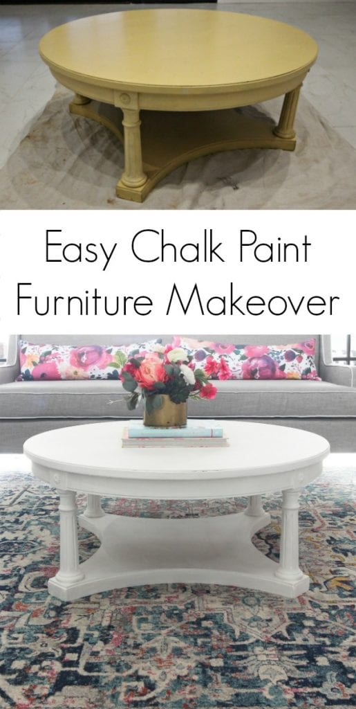 Chalk Paint Furniture Makeover - Click for tutorial!