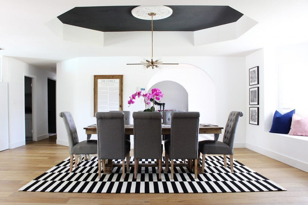 Mallory S Clic Colonial Dining Room Makeover Cly