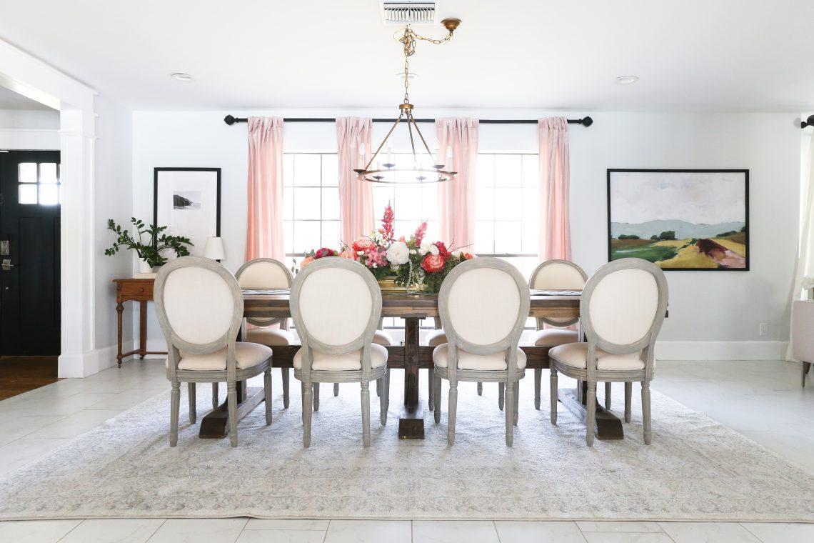 Savannah's Dining Room Refresh | Parisian Decor