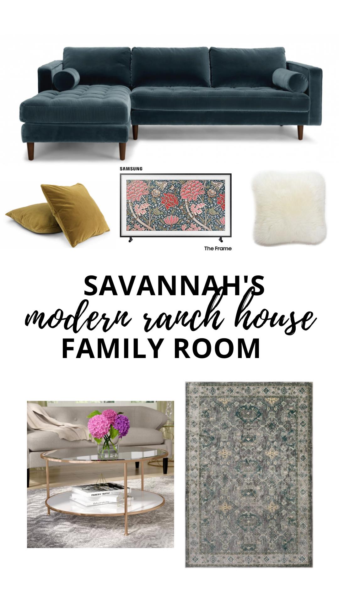 Savannah's Family Room Details