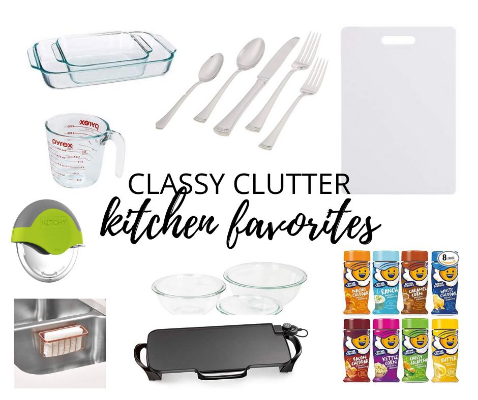 Kitchen Organizing Favorites