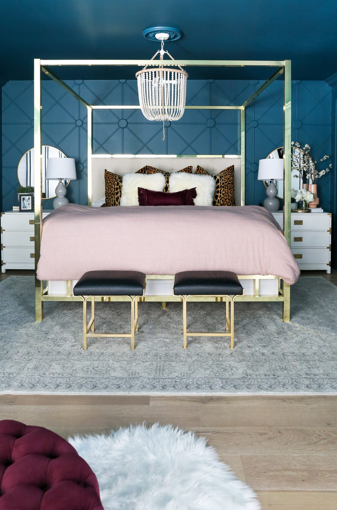Savannah's Modern Ranch House: Master Bedroom Reveal